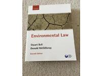 Environmental Law (Stuart Bell & Donald Macgillivray) 7th edition
