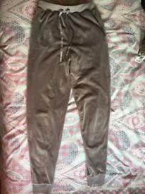 Grey jogger bottoms