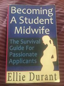 Becoming a student midwife, Ellie Durant book