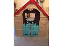 Keter foldable toy house
