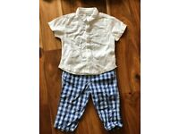 Boys designer bundle, age 12 months (mayoral, tutto piccolo and taille)