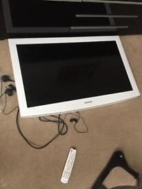 White Samsung 35 inch HD ready TV