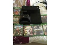 Xbox One with Kinect & 7 games