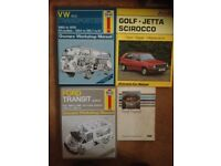 Books vw and ford