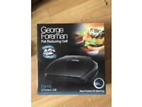George foreman fat reducing grill, family 5 portion
