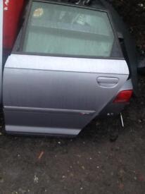 Audi A3 sline passengers side rear door