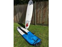 BIC MAGNUM 8'4'' SURFBOARD PACKAGE- Used once, Exc. Cond
