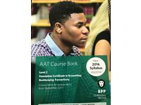 AAT accounting 2 level course book and question bank