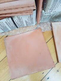 95 30x30cms Terracotta Floor Tiles