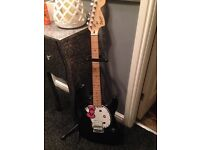 Squier Hello Kitty Stratocaster