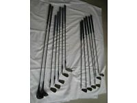Ladies Lefthanded Golf Clubs and Trolley
