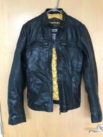 Real leather Superdry Endurance Comp jacket