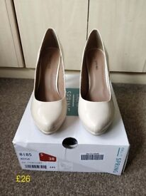 Call it Spring beige shoes