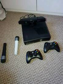 Xbox 360 elite 260GB with Konnect and games