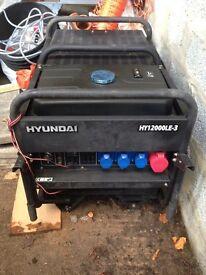 Generator hyundai 12v
