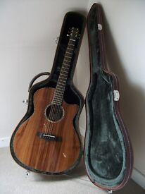 Tanglewood TVC KOA Evolution Exotic Range electro acoustic guitar