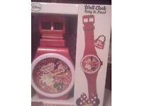 Disney Minnie mouse clock