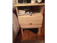 Ikea solid wood great condition and less than 6 months old!