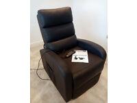 Riser Recliner Chair - Dual Motor - Brown - Clean - Unused condition.