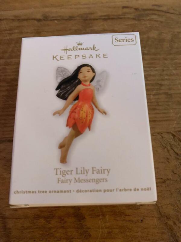 Hallmark Keepsake Ornament 2012 Tiger Lily Fairy Fairy messengers 8th in series