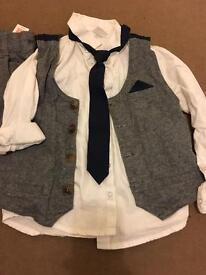 Little boys suit 4-5