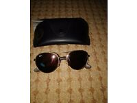 Copper lense ray ban sunglasses