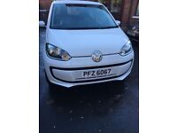 VW Move UP 3 door hatchback Remote key Oct 2013 car for sale. NOT Yaris Jazz micra mii corsa polo