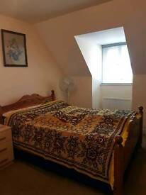 Private Double bedroom with a shared family house