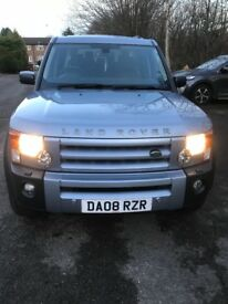 LandRover discovery auto HSE 2.7 diesel 08 7 seater fullyloaded metallic blue grey full leather etc