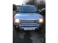 LandRover discovery auto HSE 2.7 diesel 08 7seater fullyloaded met/blue full leather new mot 2019