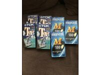 VHS videos x7 all new n sealed