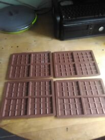 Chocolate/wax moulds