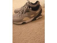 Puma trainers size 9. Worn once