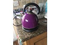 Purple Swan Stainless Steel Traditional Kettle