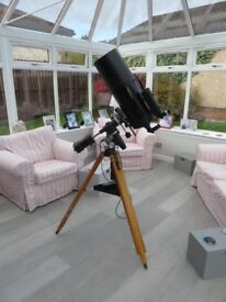 Celestron SP C8 Telescope. Equatorial drives and many accessories. excellent condition