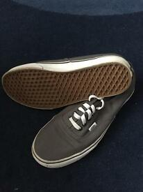Grey Men's Vans Shoes