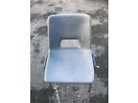 Stacking chairs for sale individually or whole lot