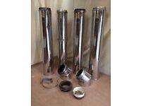 Boiler flue components