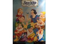 Original 80s film poster. Snow White