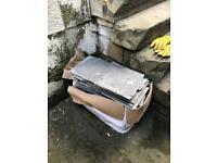 FREE box of REAL grey/black slate offcuts