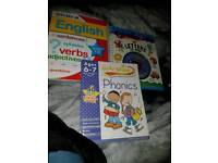 educational learning books 2 pounds each