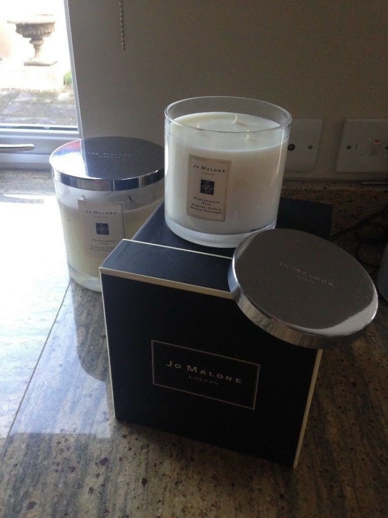 Jo Malone Pomegranate Noir Deluxe Size Candle In Box New In