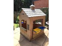 Garden play house outdoor wooden Wendy house