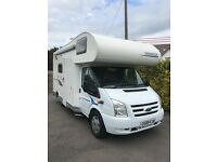 Chausson flash 3 , 6 berth motorhome ,2009, 29000 miles fsh