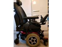 New batterie's. Pride Quantum 600 Powerchair electric wheelchair. Powerchair. Very handsome chair.