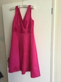 Pink dress size 14