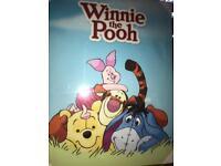 Child's Winnie the Pooh canvas