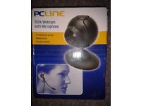 350K PCline Webcam with microphone