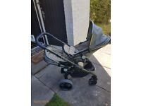 I candy peach blossom twin pushchair. Excellent condition!!