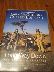long way down ewan mcgregor charlie boreman motorcycle adventure series